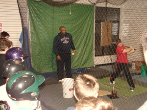 Lloyd McClendon Hitting Clinics