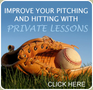 Improve Your Pitching and Hitting with Private Lessons